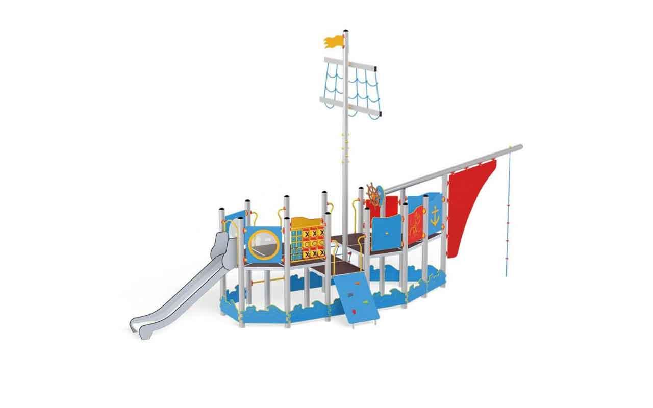 MARCO POLO SHIP - MARCO POLO SHIP - STRUTTURE DI GIOCO IN ACCIAIO