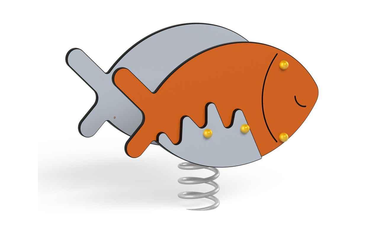 FISH - FISH - GIOCO A MOLLA PER BAMBINI