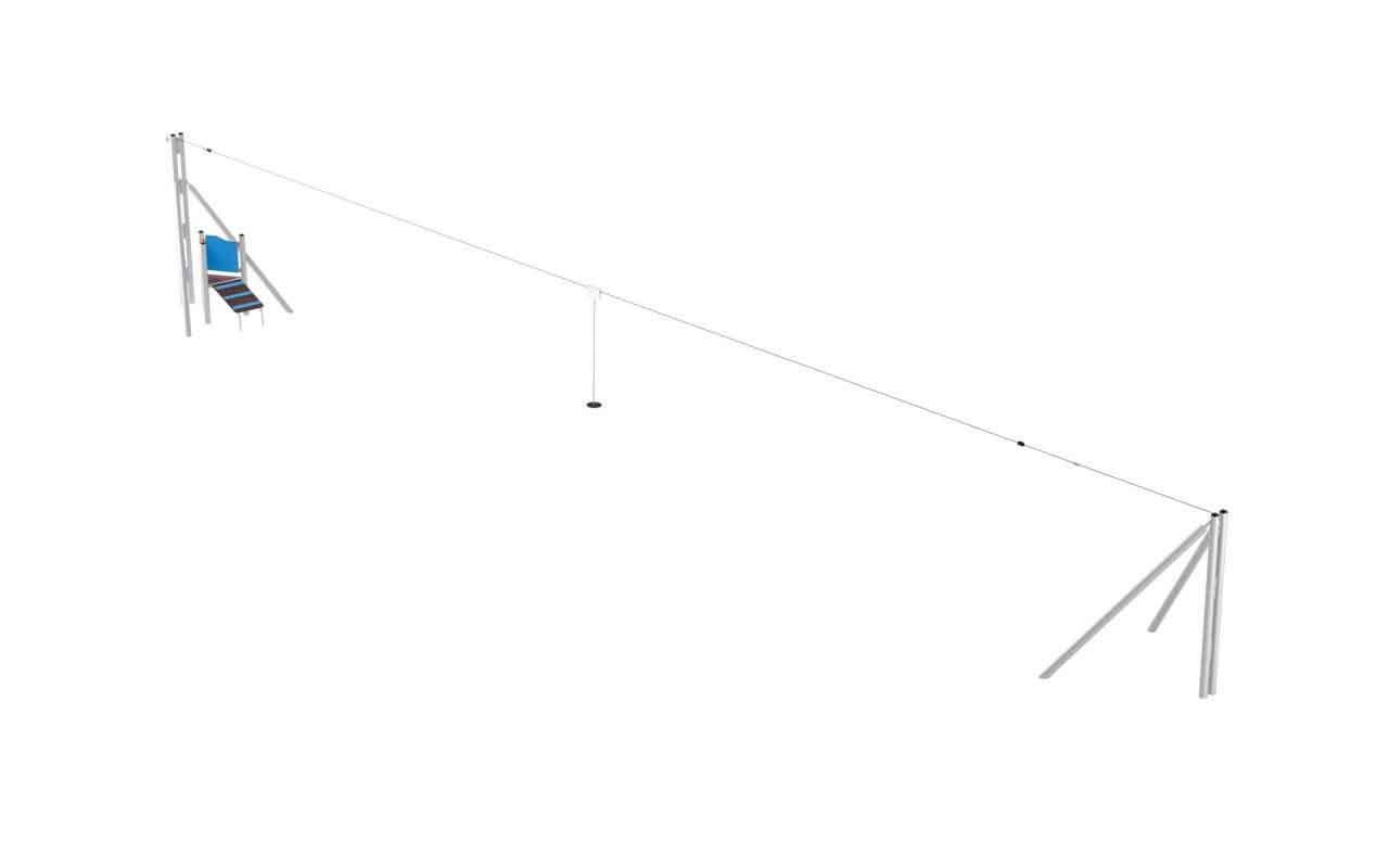 ZIP LINE - ZIP LINE - OUTDOOR FITNESS