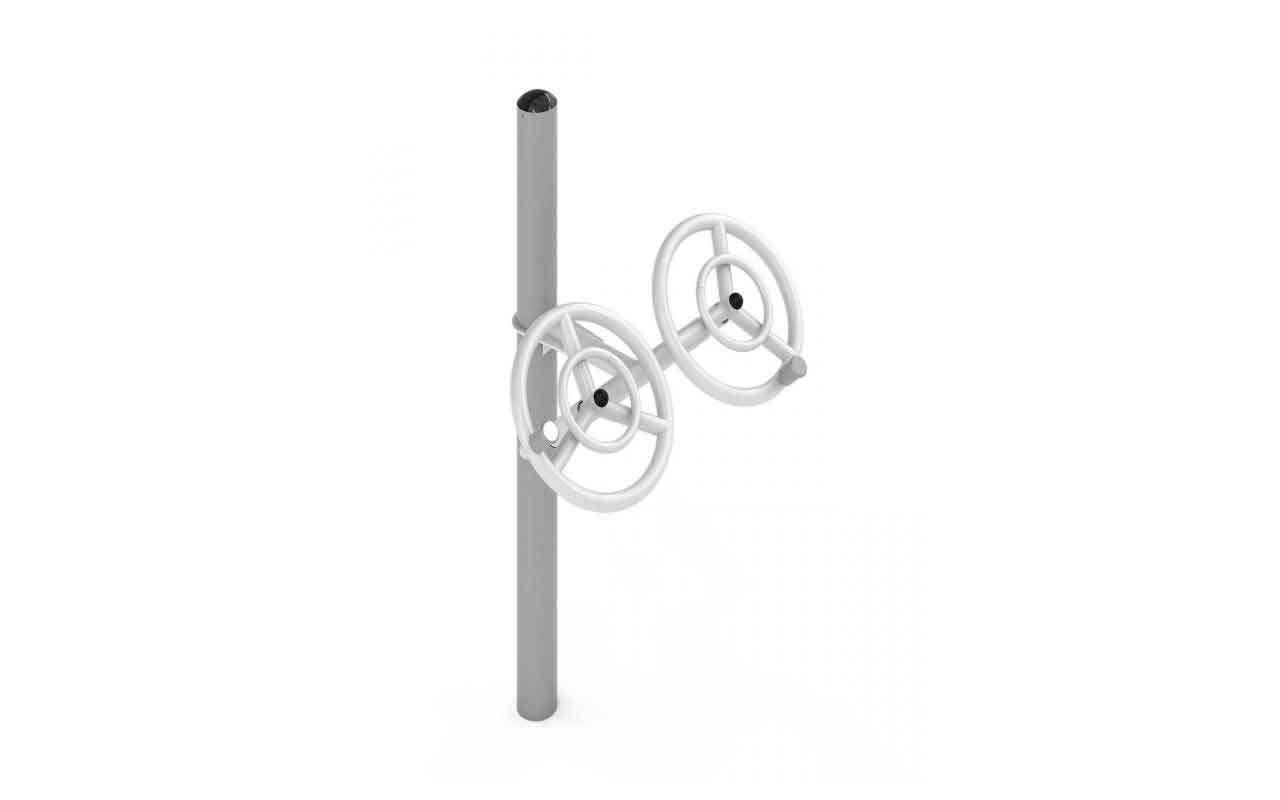 SMALL TAI CHI WHEELS - SMALL TAI CHI WHEELS - OUTDOOR FITNESS