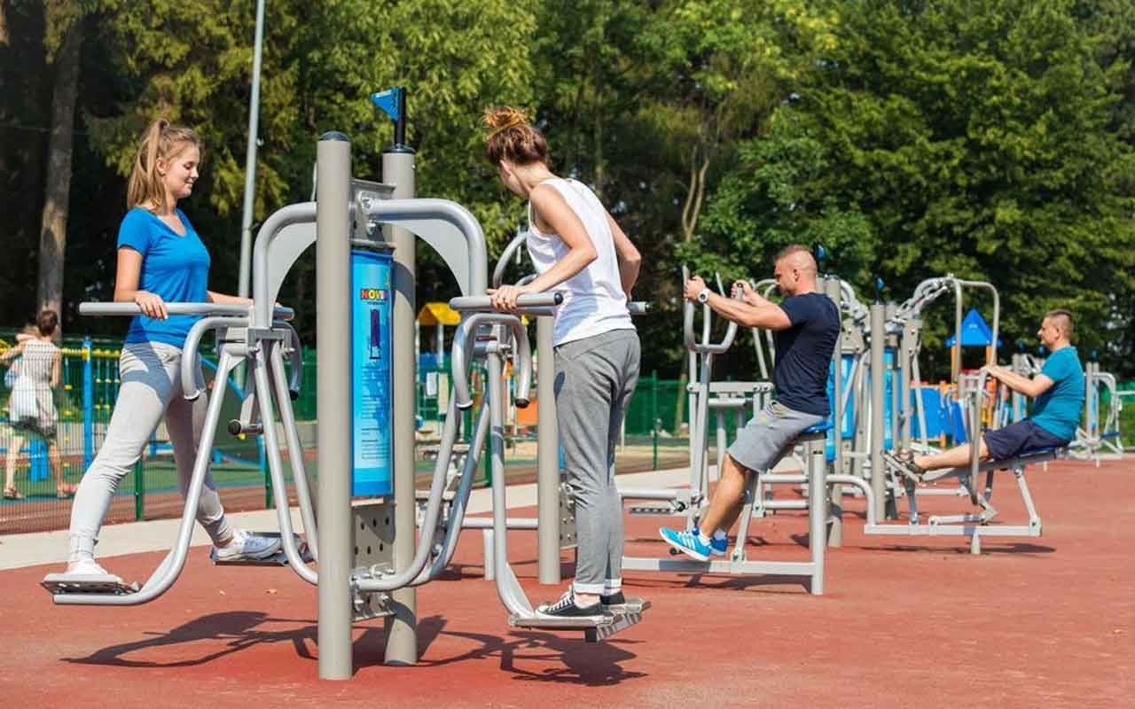 JUMPING JACK - JUMPING JACK - OUTDOOR FITNESS