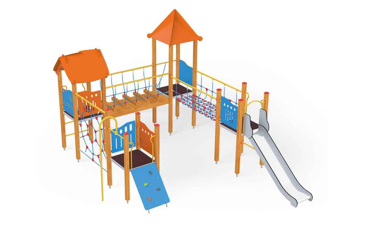 WOOD COLLECTION - WOOD COLLECTION - PARCO GIOCHI LEGNO