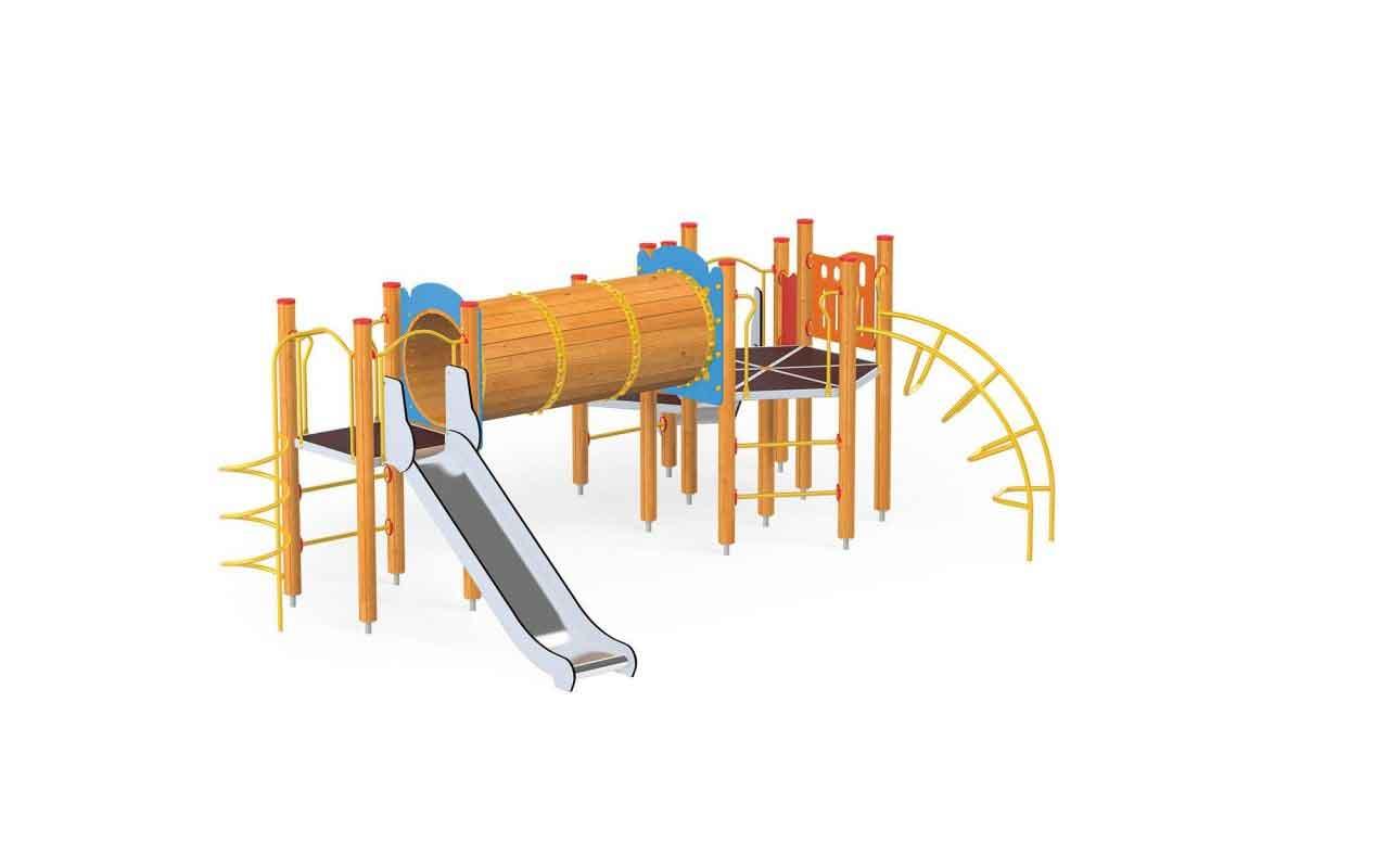 TUNNEL PLAY - TUNNEL PLAY - PARCO GIOCHI LEGNO