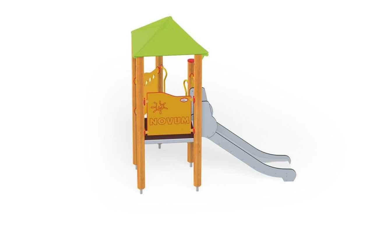 MINI TOWER PLAY - MINI TOWER PLAY - PARCO GIOCHI LEGNO