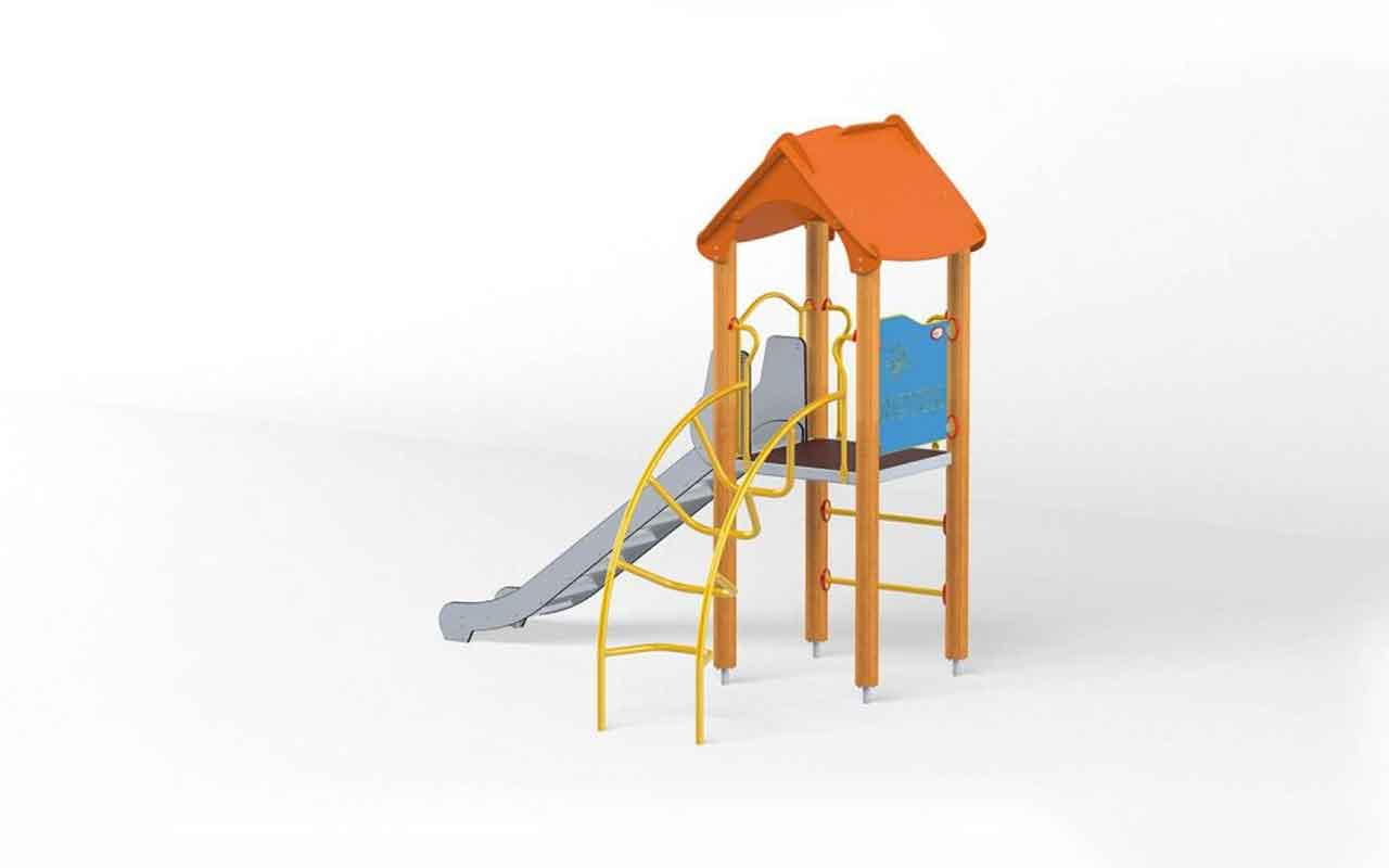 TOWER KID - TOWER KID - PARCO GIOCHI LEGNO