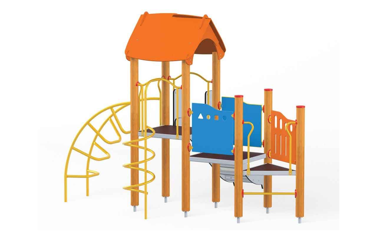 TOWER EXTRA - TOWER EXTRA - PARCO GIOCHI LEGNO