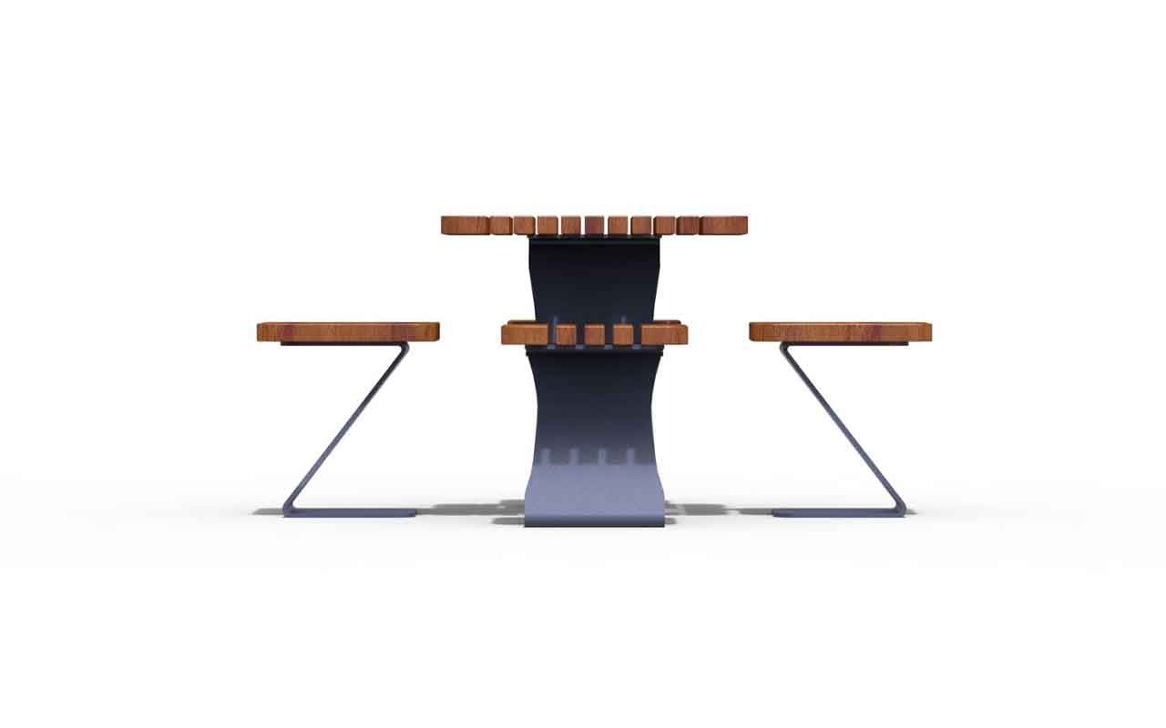 CHESS TABLE - CHESS TABLE - PANCHINE ARREDO URBANO