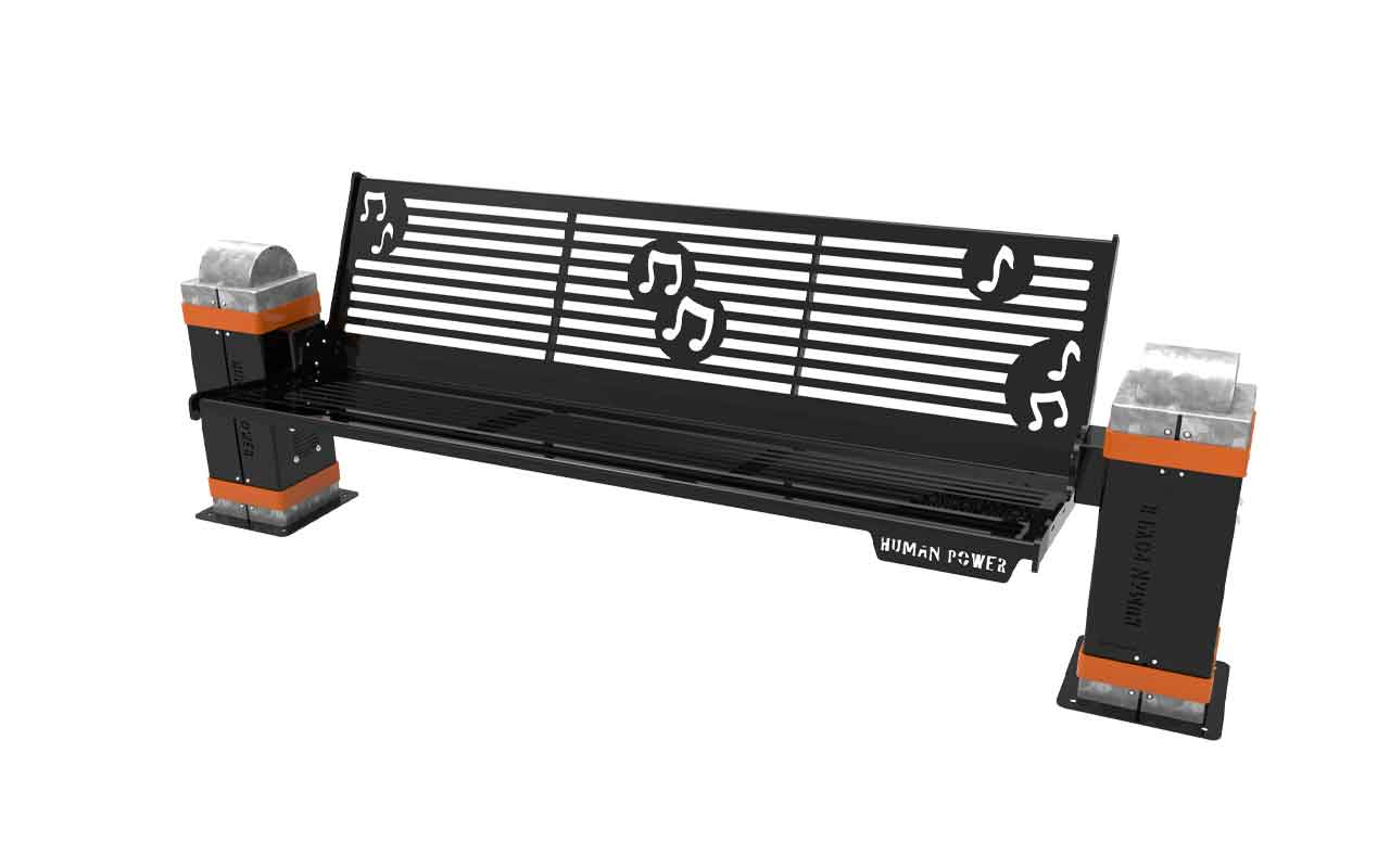 AUDIO BENCH - AUDIO BENCH - PANCHINE ARREDO URBANO